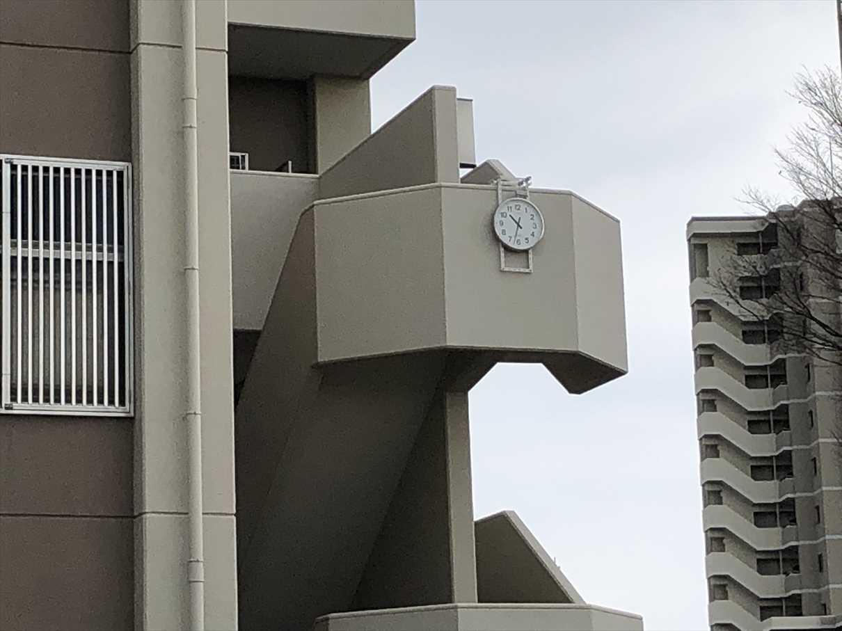 運動広場 時計写真3